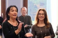 Sindaco Cisint e Presidente dell'Associazione Alzheimer Isontino Solange Carneiro